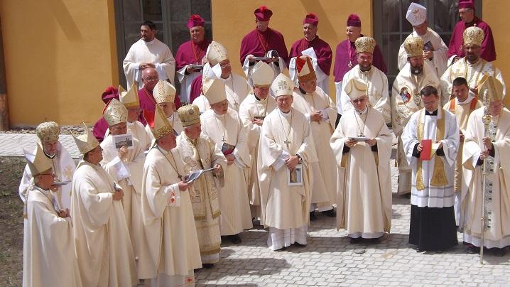 FOTO: Binecuvântarea lucrărilor de renovare a Bazilicii Maria-Radna