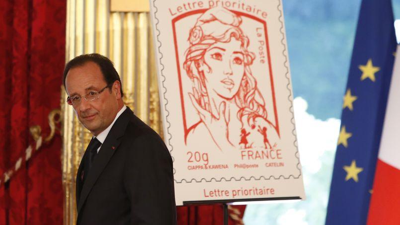 """Noile timbre din Franța sunt inspirate de chipul fondatoarei """"Femen"""""""
