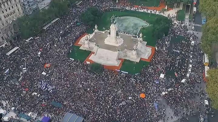 VIDEO: 3,6 milioane de participanți la al doilea Marș pentru Viață 2018 din Argentina