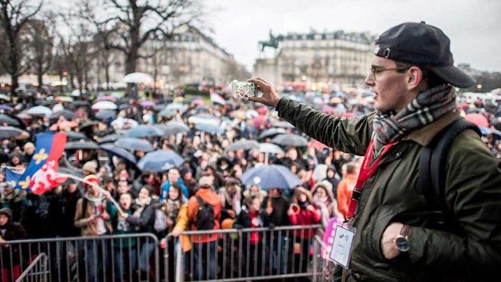 Foto: 40.000 de francezi la Marșul pentru viață 2018 de la Paris