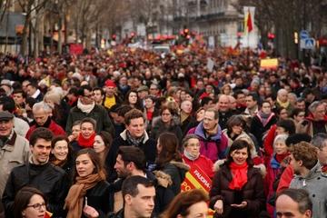 Participanți români la Marșul pentru Viață din Paris