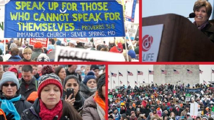 27 ianuarie 2017: Cea mai importantă manifestare pro-viață a anului în SUA
