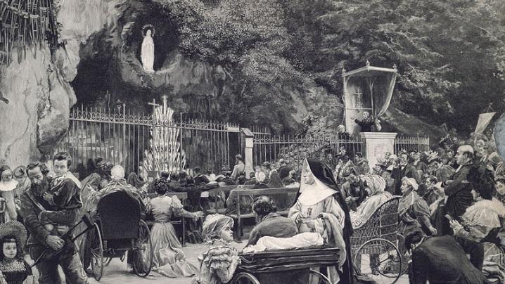 1 martie 1858: primul miracol de la Lourdes