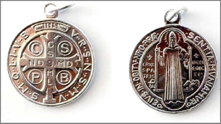 Medalia Sf. Benedict și exorcismul imprimat