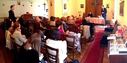 Lansare de carte la Misiunea Greco-Catolică Română din Paris