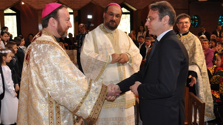 Administrația Prezidențială și Ambasada României alături de greco-catolicii din Paris