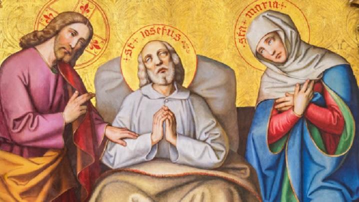 Cum a murit Sfântul Iosif