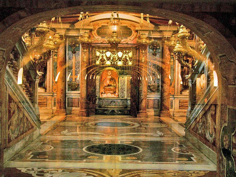 Moaștele Sfântului Petru vor fi expuse pentru prima dată în public