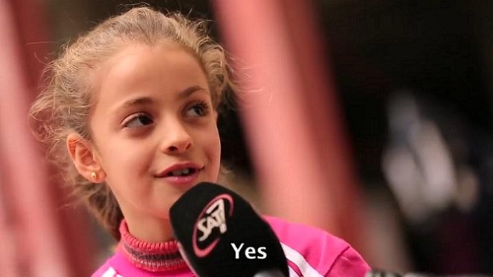 Un interviu emoţionant cu Myriam