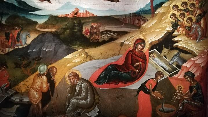 Vecernia și Utrenia Sărbătorii Nașterii Domnului și Dumnezeului și Mântuitorului nostru Isus Hristos