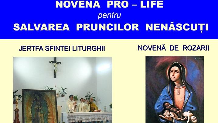Novenă pro-life pentru salvarea pruncilor nenăscuţi