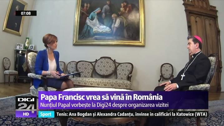EXCLUSIV. Papa Francisc vrea să vină în România