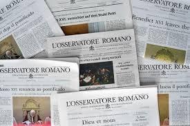 1 iulie 1861: publicarea primului număr al ziarului L`Osservatore Romano