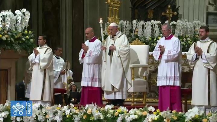 Slujba de Înviere în direct de la Vatican