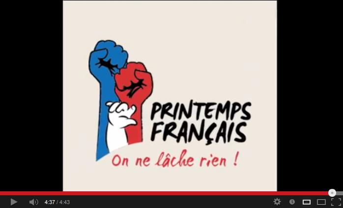 Primăvara franceză - Imnul oficial