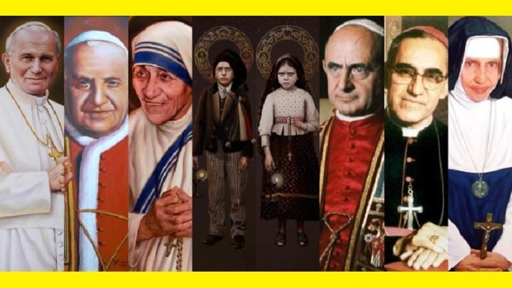 Opt canonizări grandioase ale ultimului deceniu