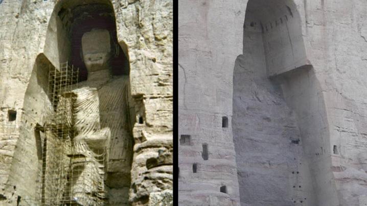 12 comori ale antichității distruse în Orientul Mijlociu