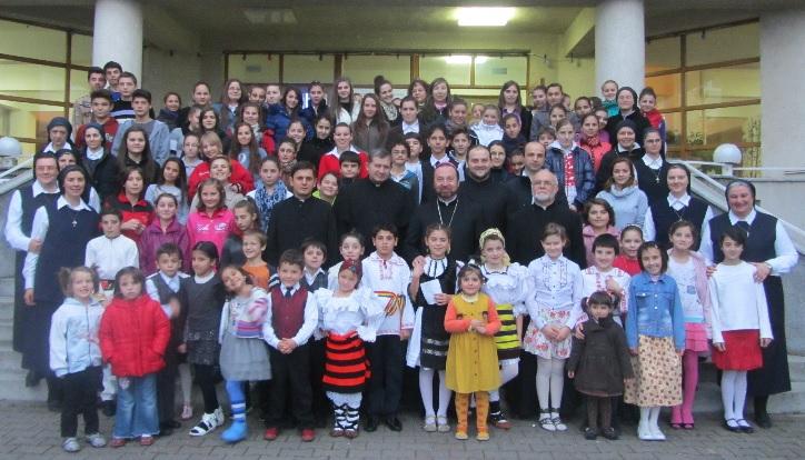 Vizita PS Claudiu într-o familie cu 150 de copii
