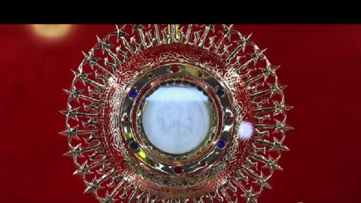 VIDEO: Fața lui Isus întipărită pe o ostie consacrată. Miracol euharistic în India?