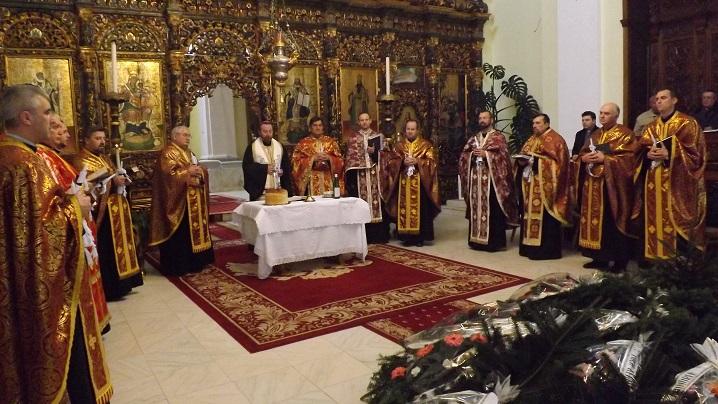 FOTO: Înmormântarea părintelui Nicolae Jidveian