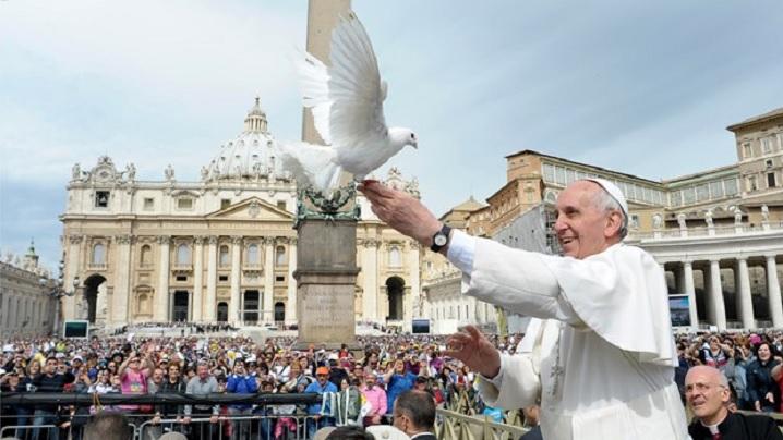 1 ianuarie 2016: Mesajului Papei Francisc pentru cea de-a 49-a Zi Mondială a Păcii