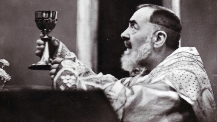 Ultima Liturghie a Sfântului Padre Pio