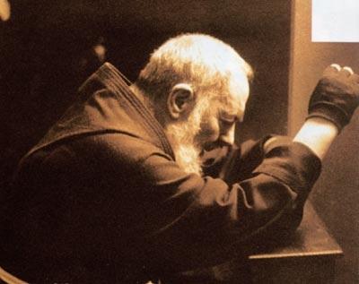 Padre Pio și sufletele din Purgator