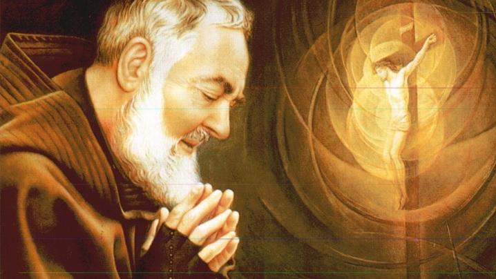 Padre Pio și sufletele din Purgatoriu