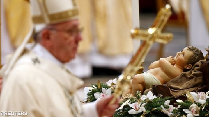 Papa Francisc: Biserica să răsfrângă lumina lui Cristos!