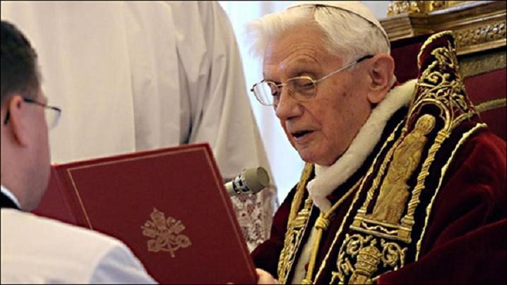 Renunţarea lui Benedict al XVI-lea, act eroic din iubire faţă de Biserică