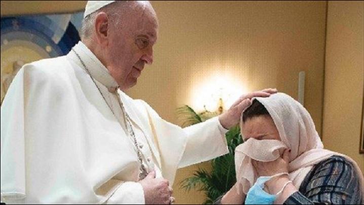 Iertarea Domnului ne redă inocența pierdută prin păcat: papa Francisc, la audiența generală