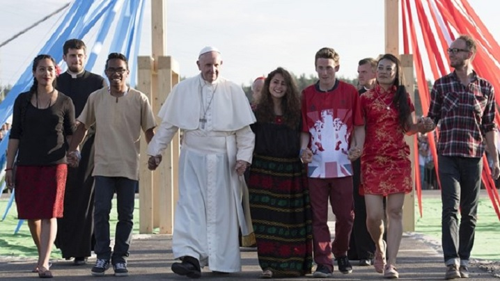 """Mesajul Papei Francisc la Ziua mondială a tineretului 2020: """"Tinere, îți zic, scoală-te!"""" (Lc 7,14)"""
