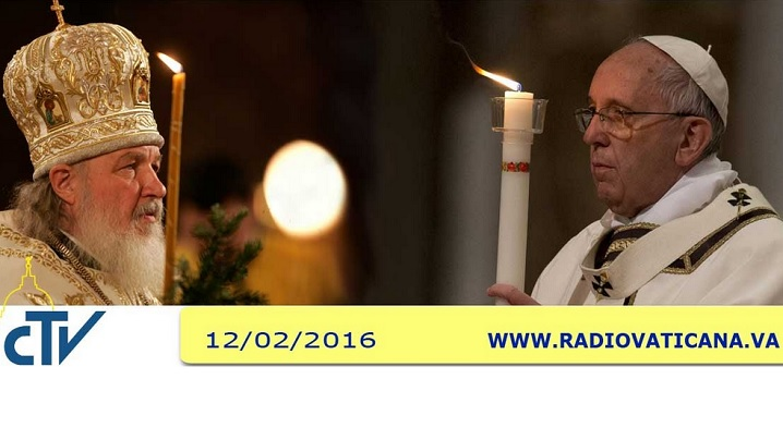 LIVE: Întâlnirea istorică între Papa Francisc și Patriarhul Moscovei
