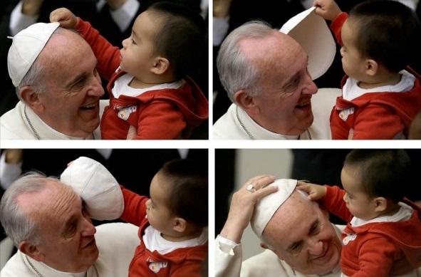 15 mii de copii preşcolari se întâlnesc cu Papa Francisc