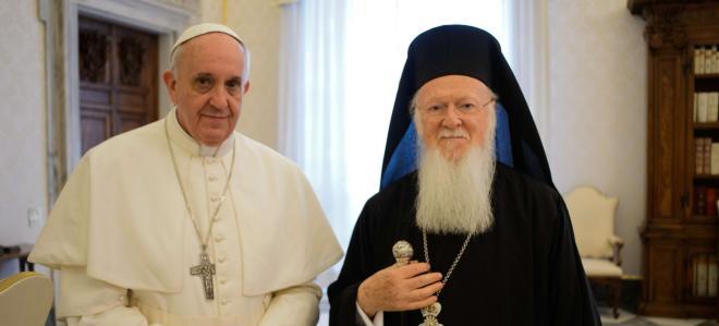 Interviu cu patriarhul Bartolomeu despre întâlnirea cu papa Francisc la Ierusalim