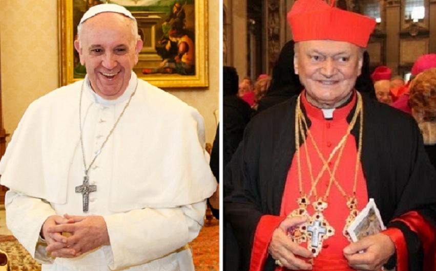 Papa Francisc îi scrie Cardinalului Lucian