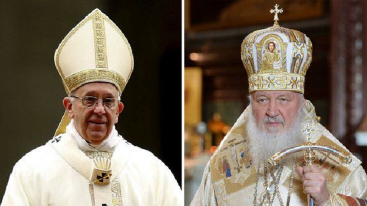 Pariul rus al papei Francisc