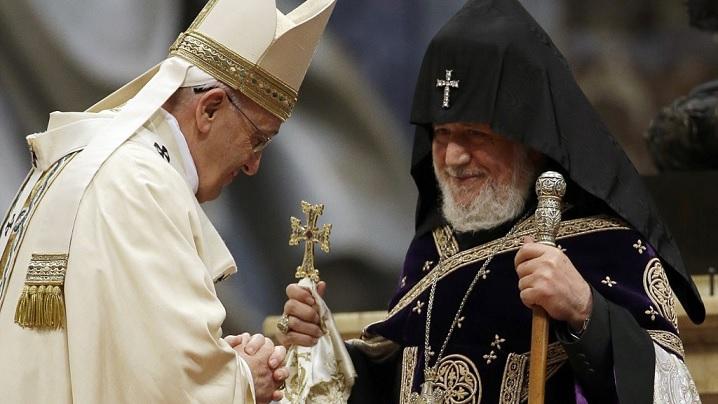 Spiritul ecumenic să devină exemplar și în afara Bisericilor: Papa Francisc în Armenia