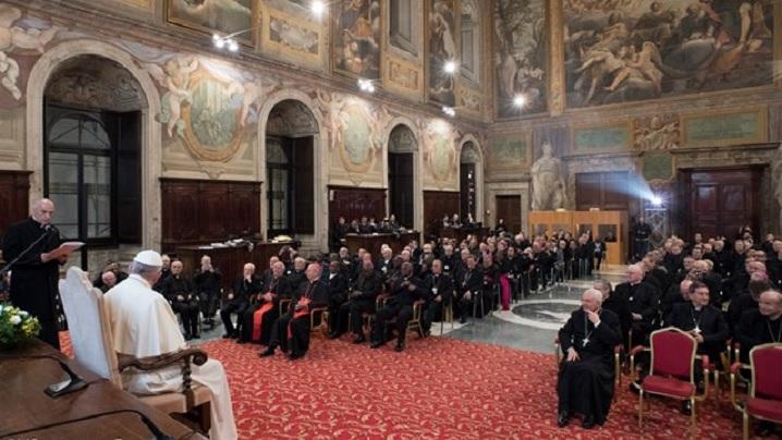 Papa la Rota Romana. Răspuns la timp pentru clarificarea situației matrimoniale