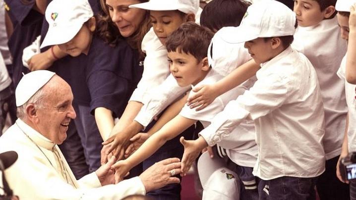 Papa Francisc: Iubirea și caritatea, vocația noastră cea mai înaltă