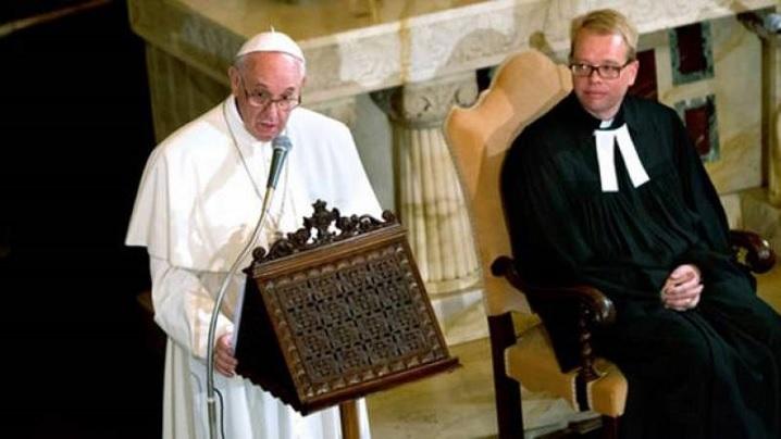 Călătoria ecumenică în Suedia și scandalul dezbinării