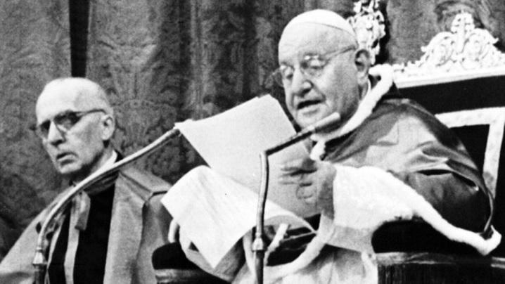 Prezentarea enciclicei Pacem in terris