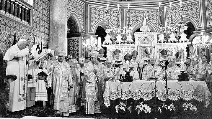 Mesajul Sfântului Papă Ioan Paul al II-lea adresat credincioșilor greco-catolici în urmă cu 21 de ani
