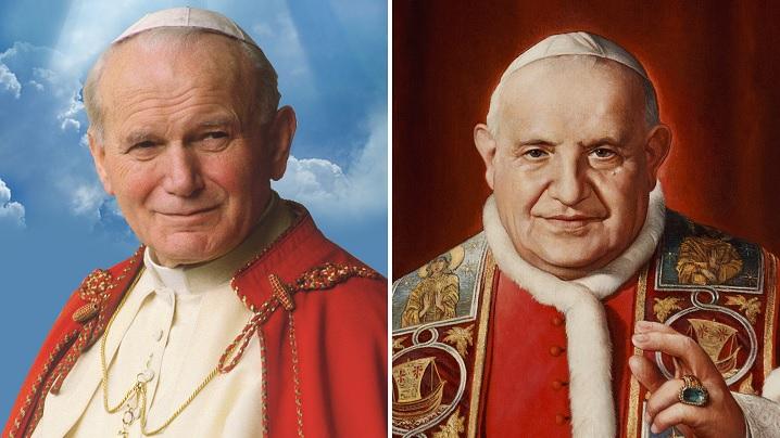 Patru ani de la canonizarea lui Ioan Paul al II-lea și Ioan al XXIII-lea