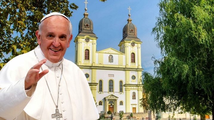 La Blaj, cu Papa Francisc, Liturghia Libertății