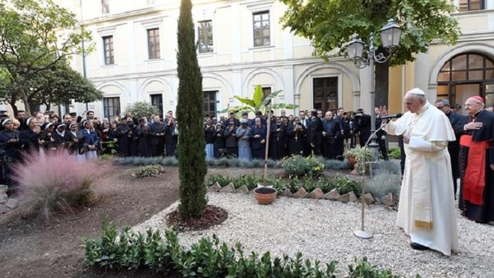 Vizita Sfântului Părinte la Institutul Pontifical Oriental din Roma