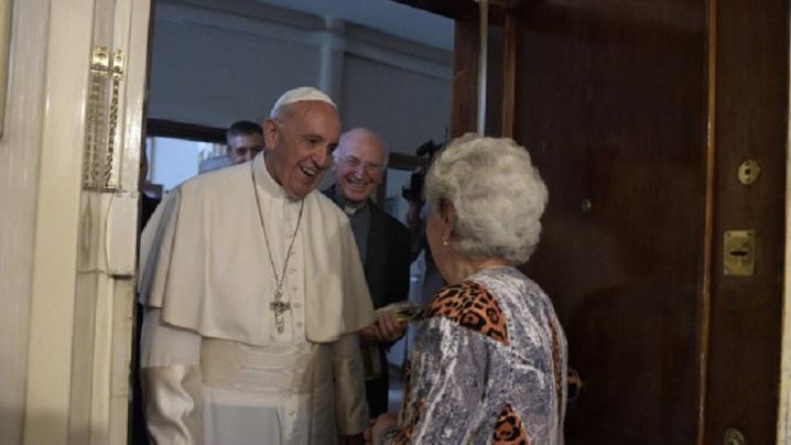 Video: Papa Francisc la binecuvântarea pascală a familiilor