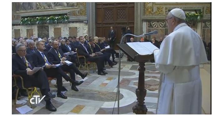 Ce le-a spus Papa liderilor europeni cu ocazia primirii premiului Carol cel Mare