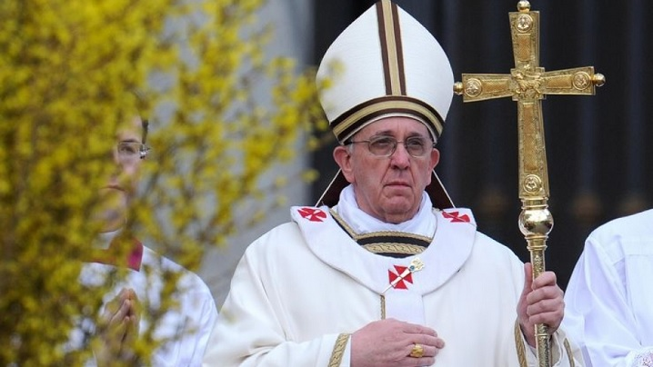 Slujba de Înviere de la Vatican în direct la TVR