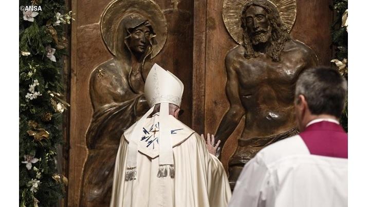 Iertarea Bisericii să fie asemenea iertării lui Dumnezeu: Papa, la Santa Maria Maggiore